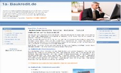 Infos zur Baufinanzierung, Baukredit, Tilgungsrate, Finanzierung ohne Eigenkapital etc.